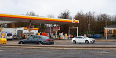 Shell Petrol Filling Station, Cardiff